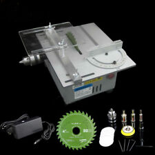 Portable Bench Precision Table Saw Blade Woodworking Cutting Polish Machine DC24