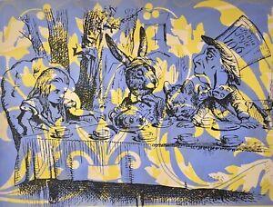 Peter Mars Large Art Alice in Wonderland Tea Time Mad Hatter Fairy Tales Movies