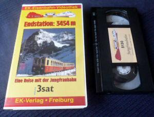 VHS EK Eisenbahn Reise Mit Jungfraubahn Eiger Mönch Schynige Sphinx Interlaken