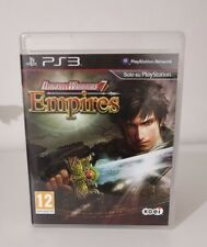 Dynasty Warriors 7 Empires as new Italian Complete ps3 Playstation 3