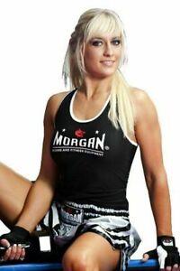 MORGAN Boxing Muay Thai MMA Trainning Girls Singlet