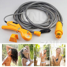 Portable Outdoor Camping Hiking Travel Car Pet Dog Clean Shower 12V FREE POSTAGE