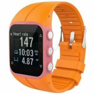 For Polar M400 M430 GPS Watch Soft Silicone Rubber Wrist Watch Band Strap & Tool