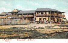 COATZACOALCOS EL CORREO MEXICO POSTCARD (c. 1910)