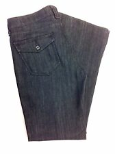 7 Seven For All Mankind Trouser Slacks Boot Flap Pocket Stretch Jeans Size 29