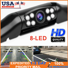 170° Car Rear View Reverse Backup Parking Camera HD Night Vision Waterproof LEDs