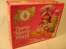 *New* Vintage Berry Merry Worm 1983 Kenner [g2]