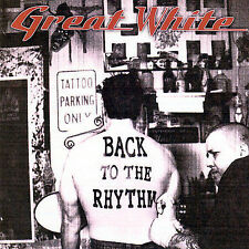 Great White - Back to the Rhythm [New CD] Ships in 24 hours!