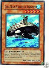 Yu-Gi-Oh! ORCA MEGA-FORTEZZA DELL'OSCURITA' - 1ªEd SR