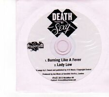 (DZ737) Death By Sexy, Burning Like A Fever - 2013 DJ CD