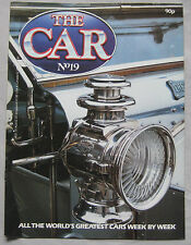 THE CAR magazine Issue 19 featuring Rolls Royce Silver Ghost, Tyrrell P34