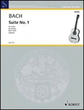 Cello-Suite No. 1 BWV 1007 Sheet Music Guitar Solo NEW Schott 049010757