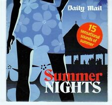 (EA322) Summer Nights, 15 tracks various artists - 2005 Daily Mail CD