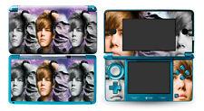 Skin Sticker to fit Nintendo 3DS - Justin Bieber