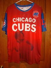 Chicago Cubs Kris Bryant #17 MLB  KLEW  Watermark  T-shirt Men's  Red XL New!