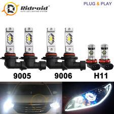 9005 9006 H11 LED Headlight Combo for Honda Civic 06-15 Odyssey 05-10 Accord 06