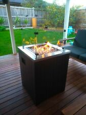 Modern Designer LPG Propane Gas Fire Pit Fire Heater Portable with PVC Cover