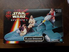 1/18 3.3/4 10cm STAR WARS EPISODE I VEHICULE FLASH SPEEDER  NEUF BOITE