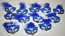 12 MINI MASK MASQUERADE MASK QUINCEANERA SWEET 16 PARTY FAVORS RECUERDOS PURPLE