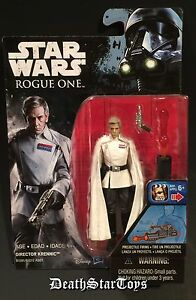 Star Wars Rogue One Director Orson Krennic Erso Death Troopers Scariff Jedha RO