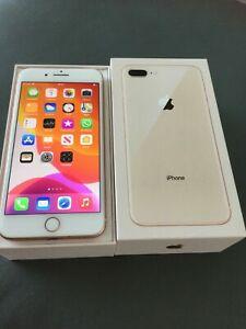 Apple iPhone 8 Plus - 64GB - Gold (Unlocked) Very Good condition