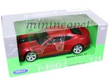 WELLY 24042 CHEVROLET CAMARO ZL1 1/24 DIECAST MODEL CAR RED