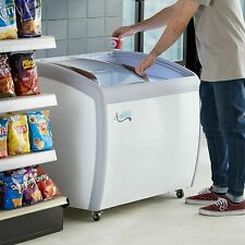 36 Ice Cream Glass Store Freezer 67 Cu Ft Showcase Display Commercial New