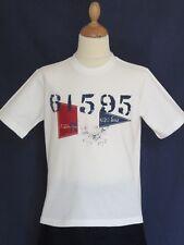 Superbe T-Shirt blanc cassé RALPH LAUREN - Comme Neuf - Taille : 8 ans