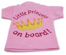 Indigo Little Princess On Board T Shirt Lumineux Design Pour Fenêtre Voiture BN