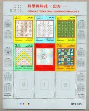 China Macau 2014 Science and Technology – Magic Squares I Mini Sheet