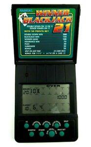 Vintage Radica Winner Blackjack 21 Model 1750 Handheld Electronic Game