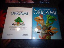 ORIGAMI Idées Usborne Réalistaion en Pliage Papier Plié E O'Brien K Needham 1996