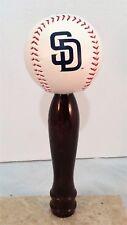 San Diego Padres KEGERATOR BEER TAP HANDLE MLB Pub Style Baseball Cherry