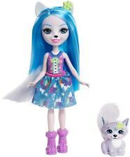 Enchantimals Bambola Winsley Il Lupo con Amico Cucciolo Multicolore FRH40