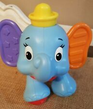 "Fisher-Price Disney BABY DUMBO ELEPHANT Developmental 6"" Plastic Toy Figure"