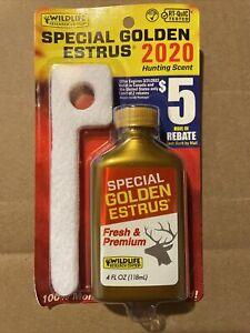 Wildlife Hunting Scent Special Golden Estrus