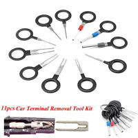 11X Car Terminal Removal Tool Wiring Connector Extractor Puller Release Pin Kit
