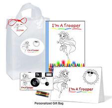 Trooper Gift Bag for Girl-Get Well Gift-brave child, superhero, kids camera