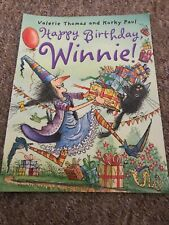 Winnie the Witch: Happy Birthday Winnie! (Paperback) Book Like New Condition