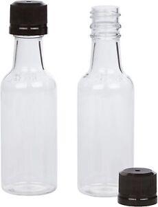 50ml mini empty plastic alcohol liquor bottle shots