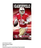 Jimmy Garoppolo San Francisco 49 ers NFL Football Strandtuch,Badetuch Towel