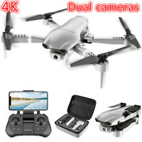 F3 PRO Dual HD Camera GPS 4K 5G WIFI FPV Optical Brushless RC Drone Quadcopter