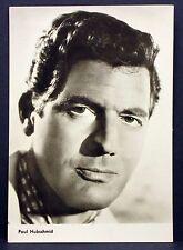 Paul Hubschmid - Actor Movie Photo - Film Autogramm-Karte AK (Lot-G-7429