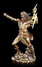 Zeus Figur - Griechischer Göttervater - Veronese Griechische Götter Statue Deko