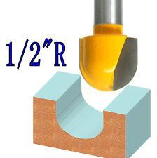 """1pc 1/2"""" SH 1/2"""" Rad, 3/4"""" Blade Cove Box Core Box Router Bit  sct-888"""
