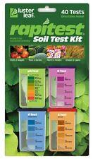 Luster Leaf 1601 Rapidtest Soil Lawn Garden Farm PH N P K Tester Testing Kit NEW