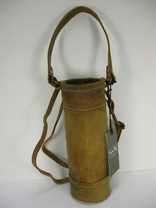 NWT MYRA BAG DISTRESSED LEATHER WINE BOTTLE BAG SHOULDER BAG CROSSBODY HANDBAG