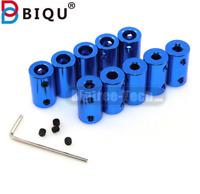 BIQU Blue Flexible Shaft Coupler Screw Bore 5mm 8mm For 3D Printer Stepper Motor