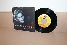 """Madonna Live to tell 7"""" vinyl picture sleeve Sire"""