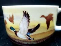 Vintage Otagiri Mallard Duck Ceramic Soup Mug Cup Bowl Japan